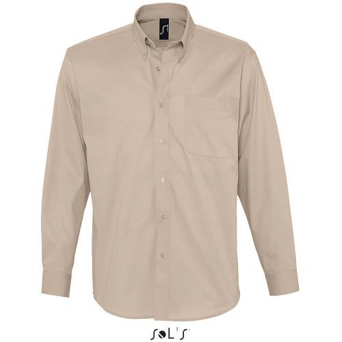 Camicie Classiche Uomo Taglio Classico Bianco Twill Lavabile Cotone Camicia Abbigliamento E Accessori